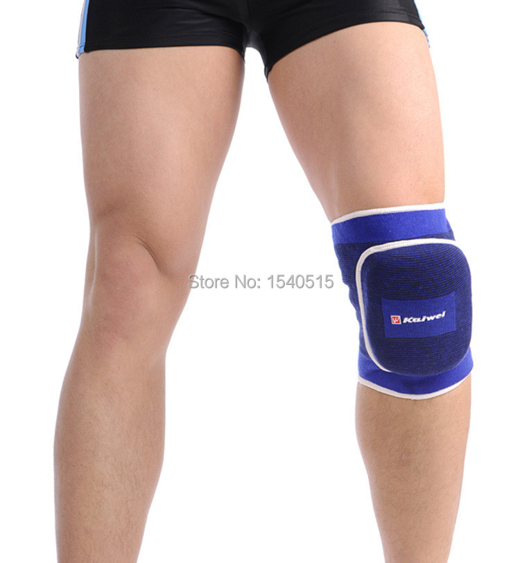 NEW rubber volleyball knee pads sport protection basketball knee support with sponge cushion pad dancing kneepad brace protector(China (Mainland))