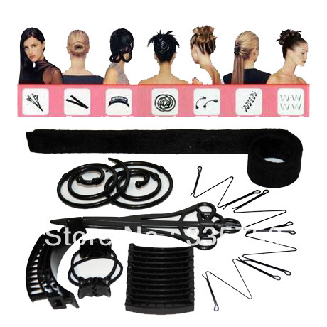 1set Beauty Hairagami Hairstyle with Total Hair Makeover Kit 100% Brand New as seen on TV(China (Mainland))