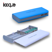 Новый 5x18650 DIY Портативный Аккумулятор Power Bank Чехол Box Dual USB 2 Порта DIY KIT Powerbank 18650 (без Батареи)(China (Mainland))