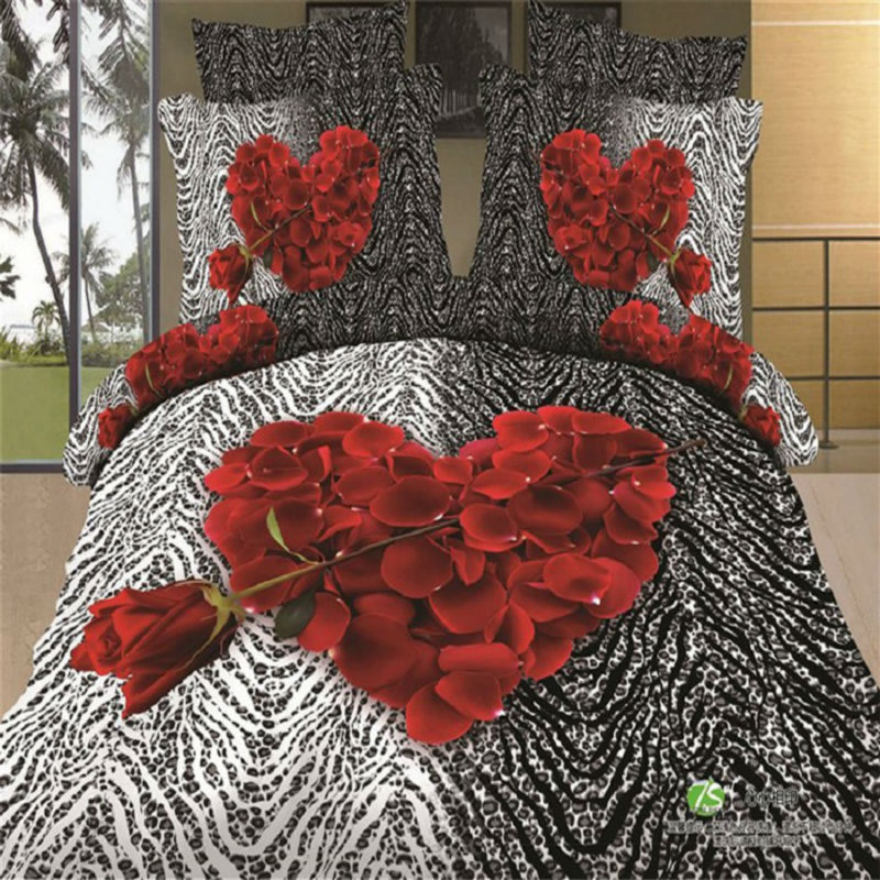 online kaufen gro handel herz bettw sche aus china herz bettw sche gro h ndler. Black Bedroom Furniture Sets. Home Design Ideas