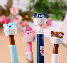 Buy Kawaii bear shape cup cake design mechanical pencils Creative function pencil Wholesale price (aa-623) for $17.70 in AliExpress store