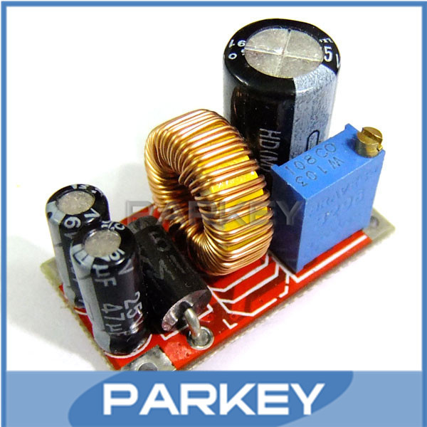5 PCS/LOT DC-DC Can Charging Buck Car Power 4.5-25V to 3-24V Adjustable Constant Current Voltage Regulator Circuit Board #MD0427