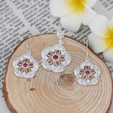 Hot selling , free shipping silver plated jewelry set, fashion jewelry set  Jewelry Set SMTS460(China (Mainland))