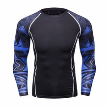 Buy Mens Compression Shirts Skin Tight Thermal Long Sleeves Jerseys Rashguard Crossfit Exercise Workout Fitness Sportswear for $8.67 in AliExpress store