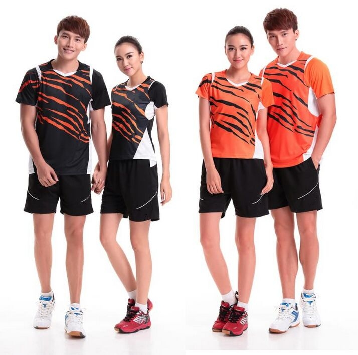 Men women sports suits Jersey Shorts Table tennis ping pang badminton sports Jersey Absorb sweat quick-drying anti-static M-4XL(China (Mainland))