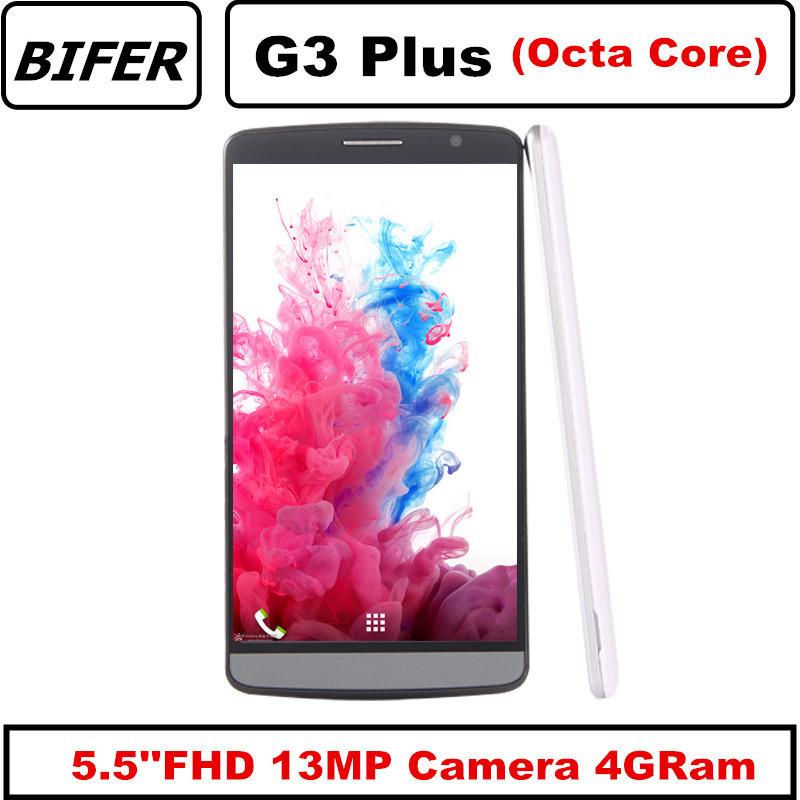 Original G3 Plus 5.5 IPS 1920*1080 Android 5.0 MTK6592 MTK6582 smartphone Octa Core 4G RAM 16G ROM GPS Lte 4G mobile Phone(China (Mainland))