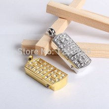 100% Full Capacity pendrive usb flash drive Prince Charming crystal necklace 8gb 16gb 32gb pen drives jewelry usb flash memory(China (Mainland))