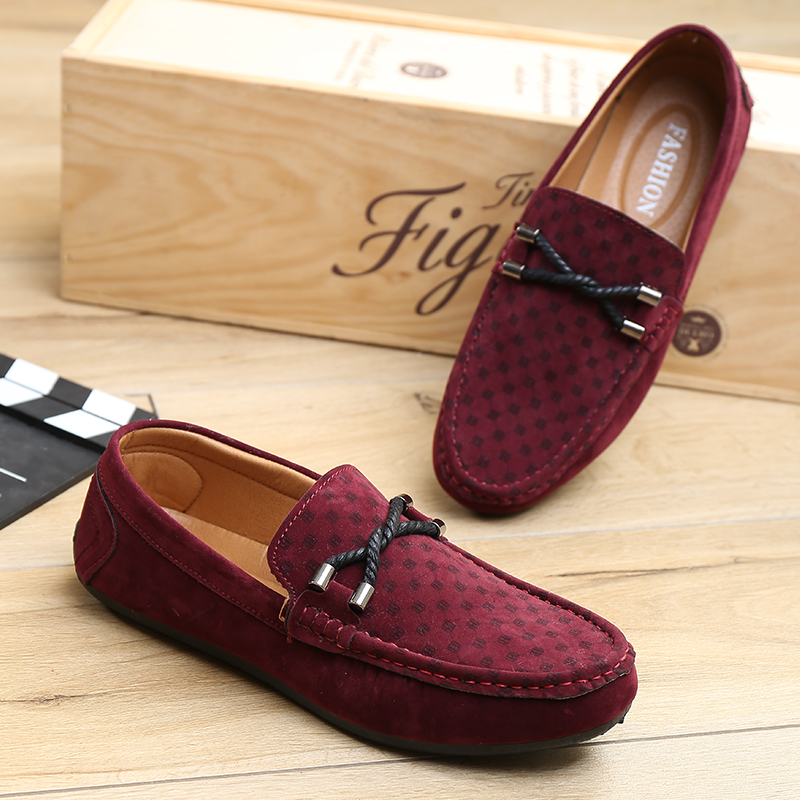 discount flat shoes slip on casual shoes mens velvet