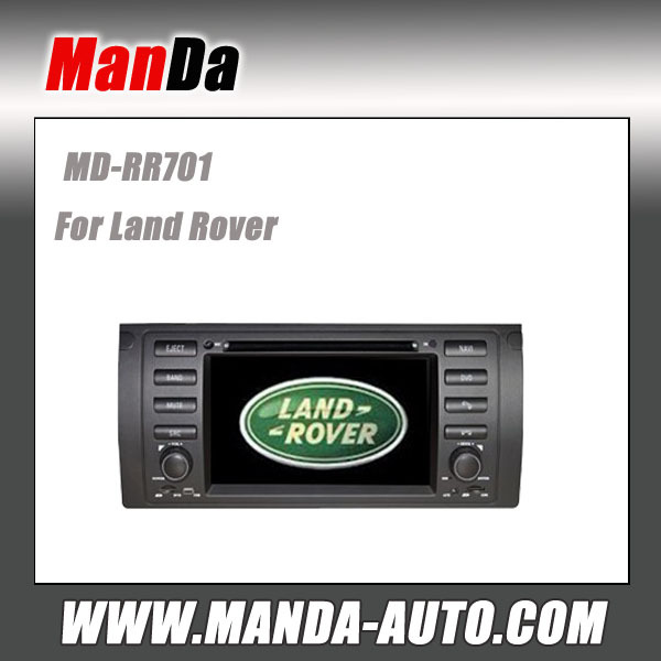 Factory double din car radio for Range Rover in-dash head unit car stereos dvd gps navigation sd usb bluetooth car accessories(China (Mainland))