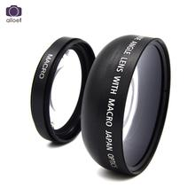 Buy 49mm 0.45x Wide Angle Camera Lens Macro Lens Sony Alpha NEX-3 NEX-5 NEX-5N Sony Alpha A3000 18-55 lens Black for $10.86 in AliExpress store