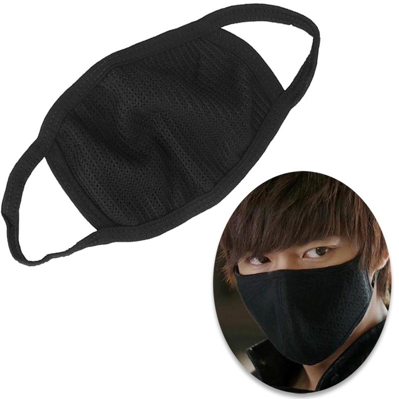 1 Pc preto saúde ciclismo Anti poeira boca rosto máscara respirador Unisex moda Kpop máscaras boca Muffle rosto #ZH297