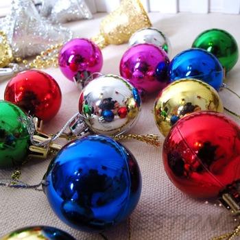 12 шт. / pack много - цвет блесна ну вечеринку вал украшение подвесной мяч украшения