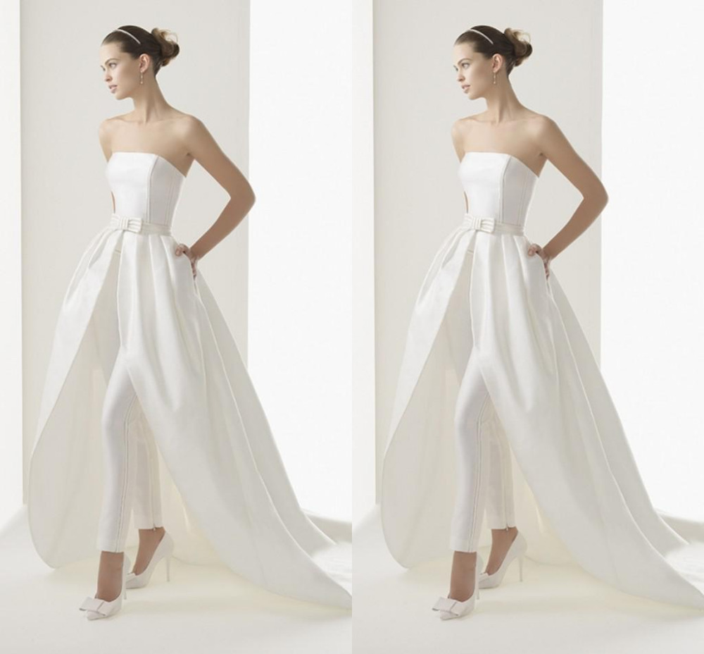 2015 New Style High Low Wedding Dresses Inside Strapless