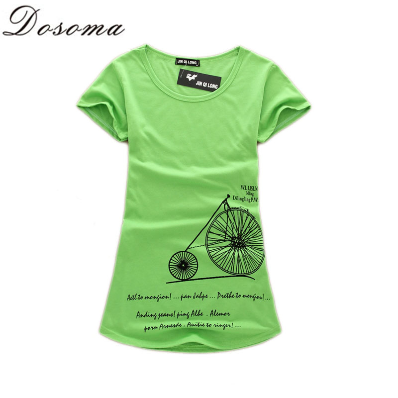 New 2015 Summer Women Harajuku Short Sleeve Print T Shirt Women's Multicolor Tunic T-Shirt Plus Size Ladies Loose Tops B317(China (Mainland))