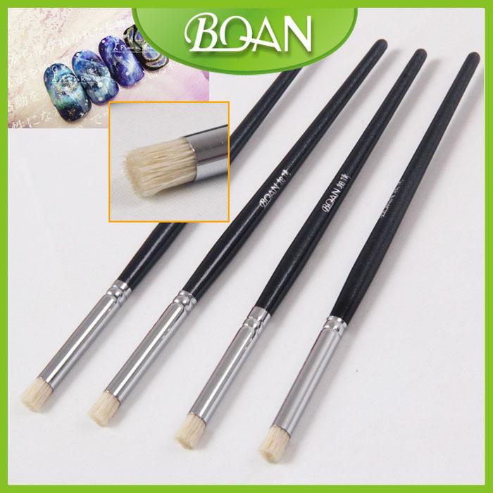 BQAN Free Shipping Black Wood Handle Nail Art Design Nail Blooming Brush<br><br>Aliexpress