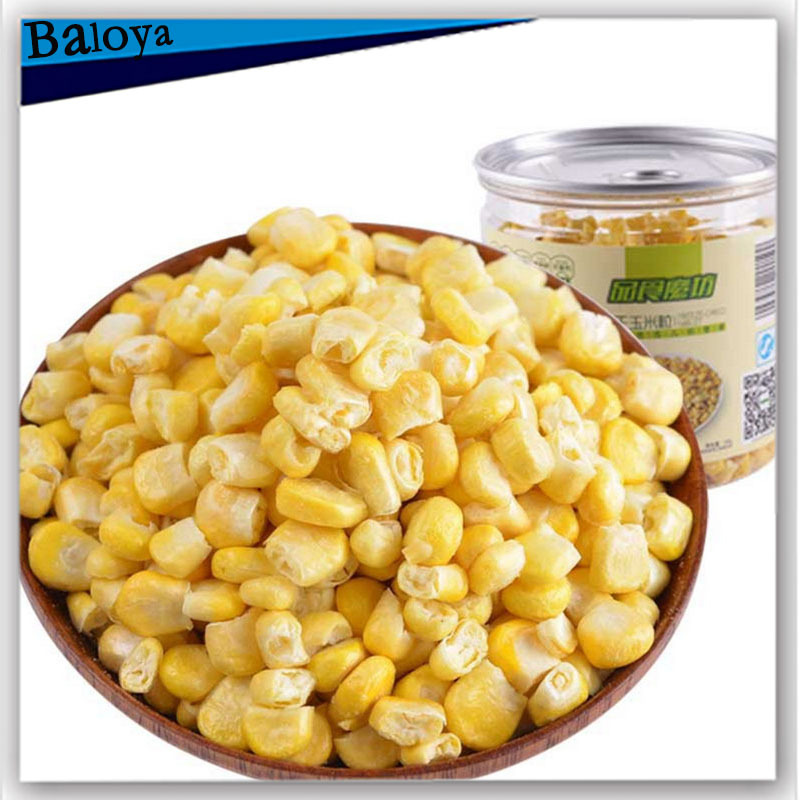Freeze dried corn 60g dried fruit cans filled with snacks sweets and candy food buy direct