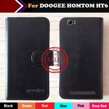 Buy Super Hot! DOOGEE HOMTOM HT6 Case 6 Colors Ultra-thin Leather Exclusive DOOGEE HOMTOM HT6 Protective Phone Cover+Tracking for $4.59 in AliExpress store