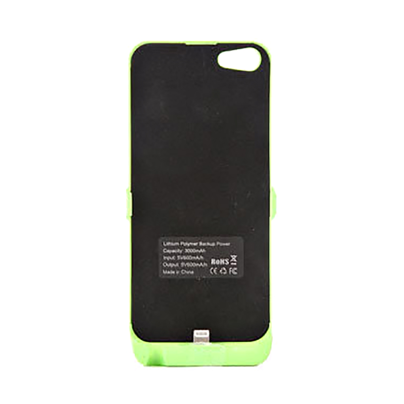 for Apple iPhone 5/ 5C /5s 3000mAh Portable Backup Battery Extend Charge Power Bank Case CoverFree Shipping(China (Mainland))
