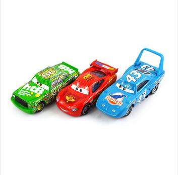3Pcs/ Set 100% Original Cars Pixar 2 Diecast Models Vehicles Kids Toys Car Toys For Children- The King,Mcque, HTB(China (Mainland))