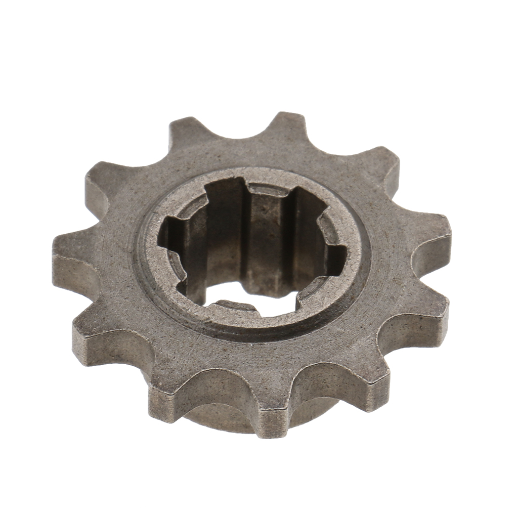 11 Tooth Front Sprocket Chain Cog (8mm - T8F) For 49cc Mini Motor Dirt Bike Motorcycles Drive & Gears Accessories