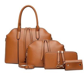 2015 последним 4 шт. женщины сумочку Высокое качество кошелек искусственная кожа сумка crossbody мешок муфты бумажник сумка леди плечо мешок