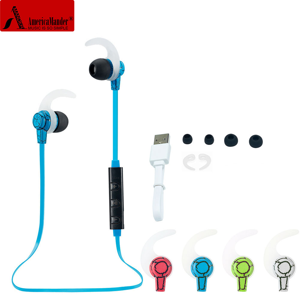4.1 Wireless Bluetooth Earphone Headphone Bluetooth Headset Headphones Microphone AptX Sport Earphone for iPhone Android Phone(China (Mainland))