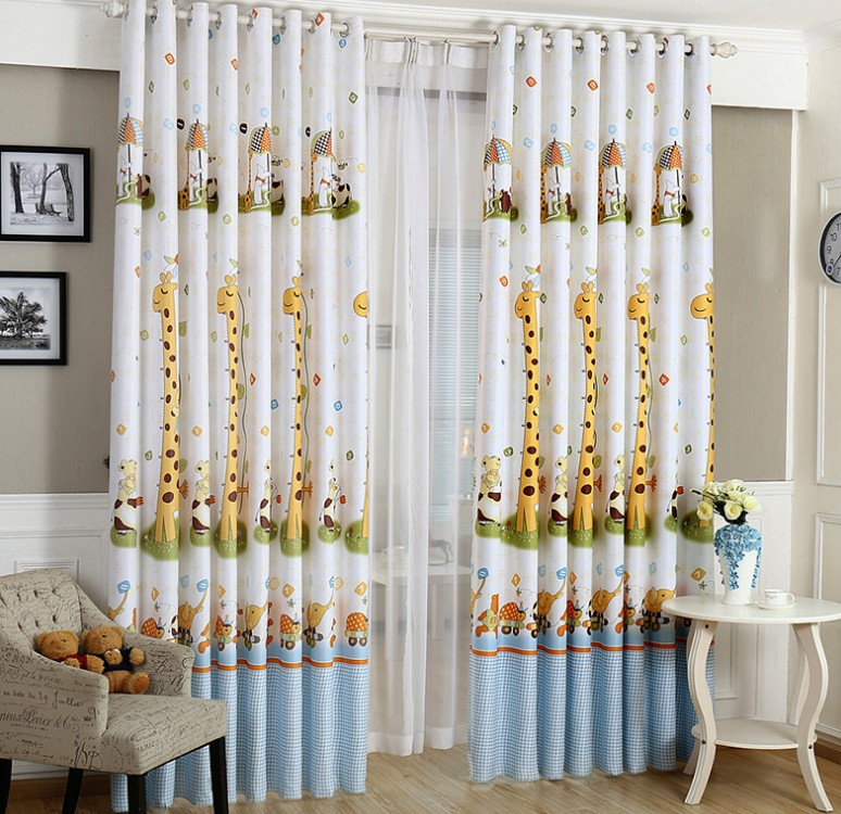 baby infant room curtains children girls boys curtain for bedroom