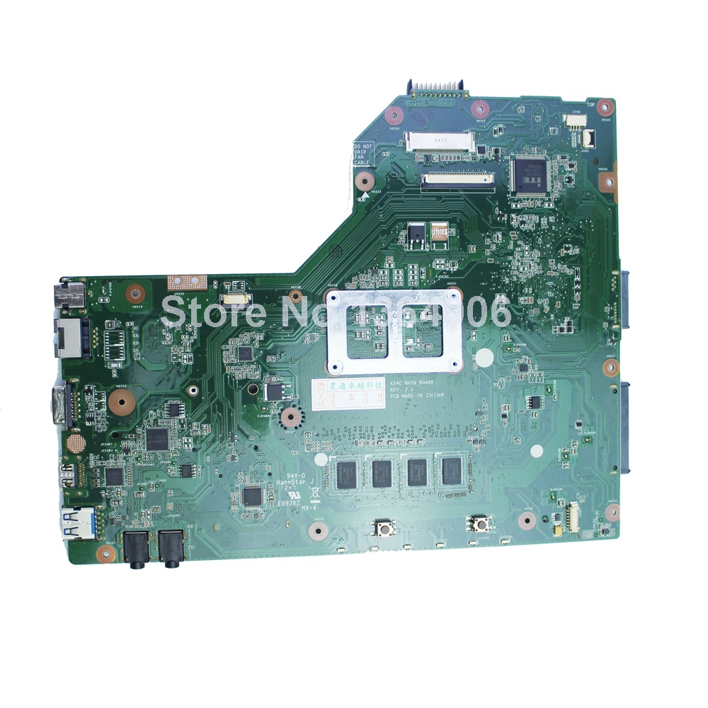 Original New Notebook Motherboard X54C K54C for Asus REV 2.1 System pc Mainboard with ram on board(China (Mainland))
