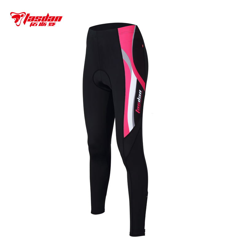 Tasdan Outdoor Wear Cycling Wear Cycling Clothes Women's Cycling Tights Pants 3D CoolMax GEL pad(China (Mainland))