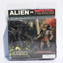 NECA Alien VS Predator Toys Alien Figure Predator PVC Action Figure Toy(China (Mainland))
