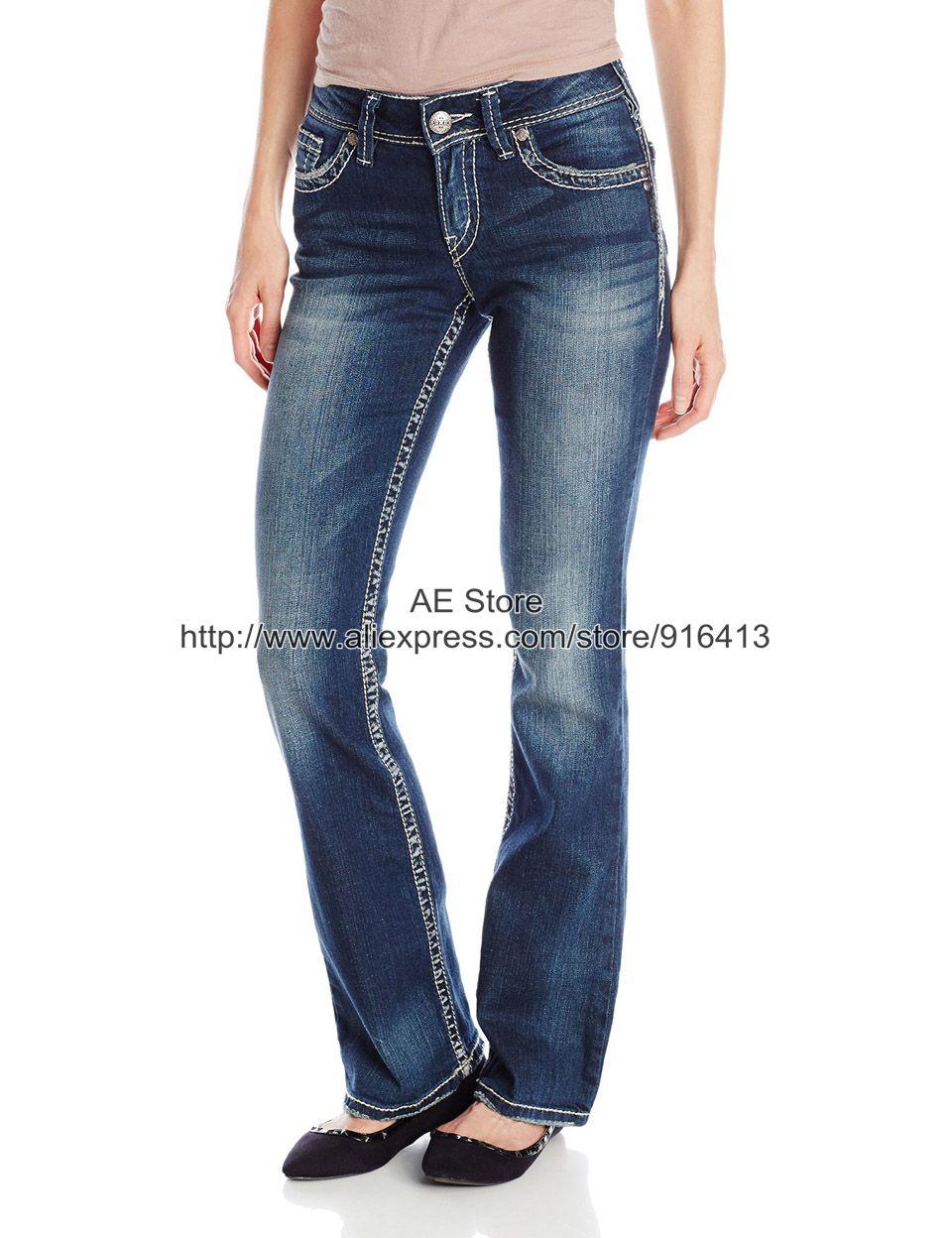 Dark Blue Bootcut Jeans Promotion-Shop for Promotional Dark Blue ...