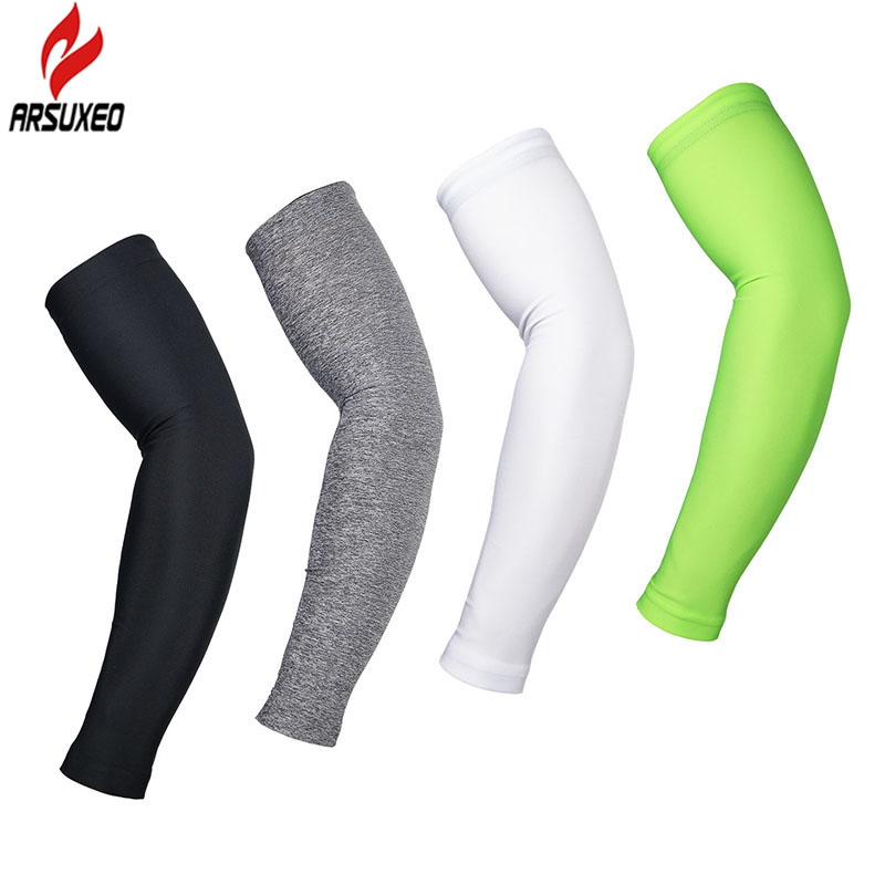 ARSUXEO Cycling Sleeves Armwarmer MTB Bike Bicycle Sleeves Arm warmer UV Protection Sleeves Ridding Golf Arm Sleeves XTN01(China (Mainland))
