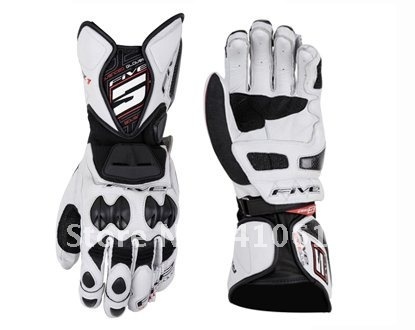 FIVE RFX1v long section of the racing of ultra-popular leather gloves, motorcycle gloves