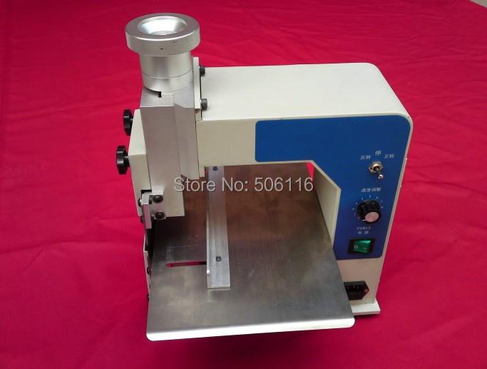 Free ship New V Cut Groove PCB Separating Separator Cutting Machine(China (Mainland))