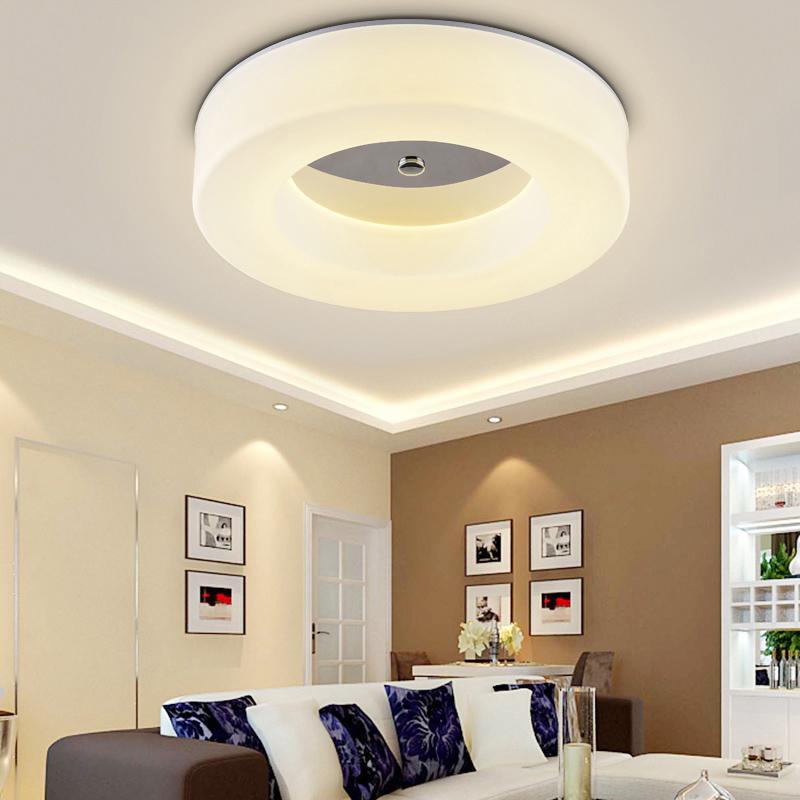 modern luster bedroom ceiling lamp round hallway fixtures