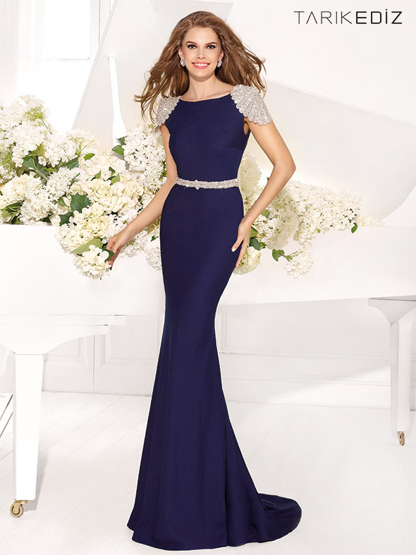 2014 Fall Navy Cocktail Dresses Prom Dresses autumn winter
