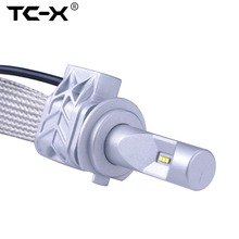 Buy TC-X H7 Car LED Light Bulb Headlight Conversion Kit Replacing Car Lamp Low Beam Auto Driving Lights Tinned Copper Braid for $42.90 in AliExpress store