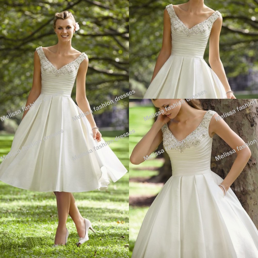 Casual short beach wedding dresses cocktail dresses 2016 for Short wedding dress for beach