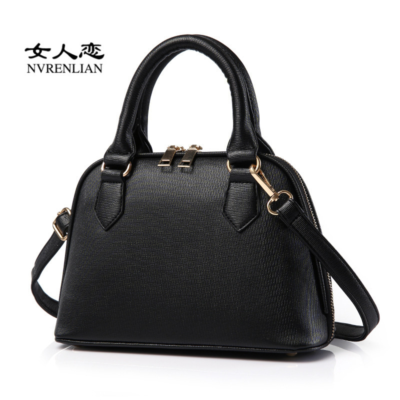 2016 new ladies handbag fashion brand trendy female shoulder Messenger bag an on behalf of the hair(China (Mainland))