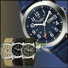 Brand EYKI  Denim Leather Fabric Strap Men Luxury Quartz Watch With Calenda Men Business Watch Free Shipping(China (Mainland))