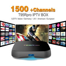 Buy Octa Core Android Arab IPTV BOX T95RPRO Free 1500 Europe Arabic IPTV Channels S912 2GB/16GB TV Box WIFI H265 Media Player for $76.99 in AliExpress store