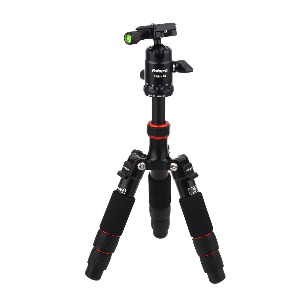 FOTOPRO M-4S Mini Travel Portable Lightweight Tripod Monopod W/ Ball Head For Canon Nikon Sony Camera DSLR(China (Mainland))