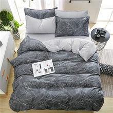 2019 New spring Bedding set Orange Cactus duvet cover set BIg Ben flat sheet Pisa tower jogo de cama bed linen heart duvet cover(China)