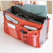 Beautician Make up organizer bag Women Casual travel bag multi functional Cosmetic Bags storage bag in bag Makeup Handbag X01