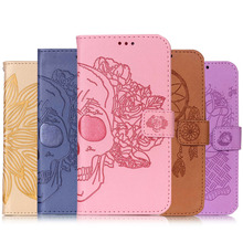 Buy Flip Case Fundas Huawei Y5 II Luxury Embossing Wallet Leather Case Cover Coque Huawei Y5 II Y5 2 Protective Back Cover for $3.99 in AliExpress store
