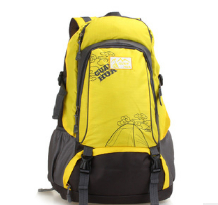 new fashion backpacks patchwork polyester travel comupter bags four colors to choose free shipping(China (Mainland))
