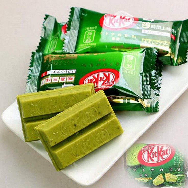 Grilled cheese !1pcs Weight 12g/pcs.7 kinds Japanese Kit Kat Chocolate.Apple pie,pumpkin,black chocolate,milk,green tea,cheese(China (Mainland))