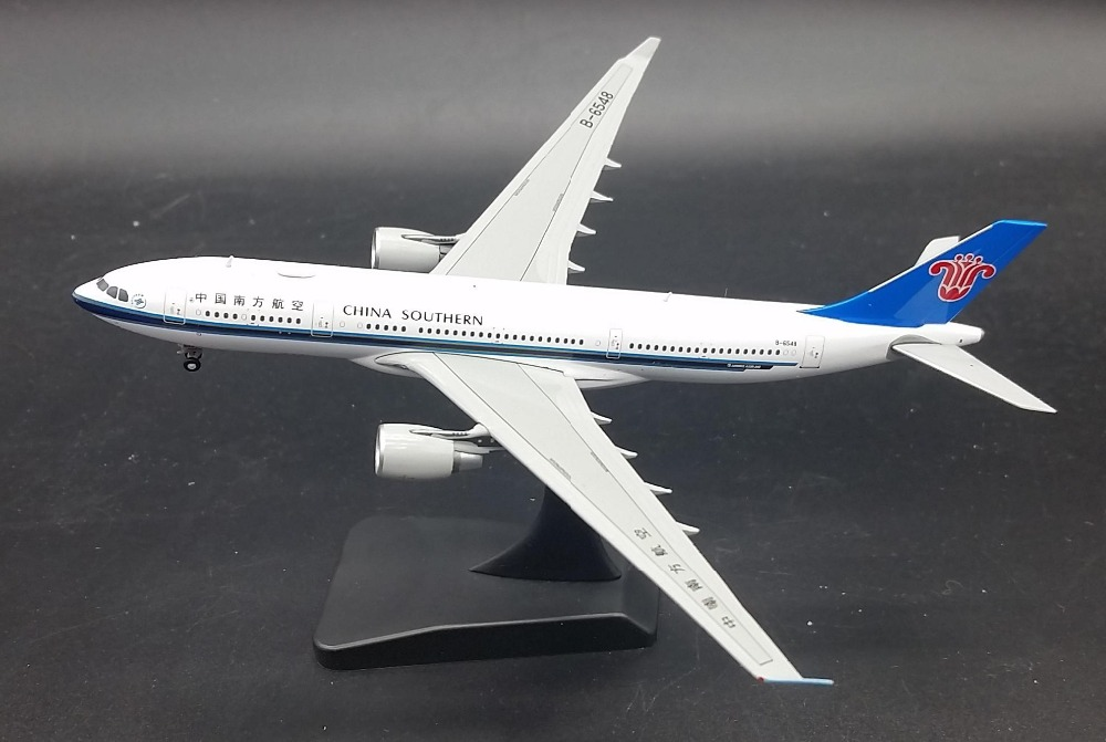 JC WINGS Limit 1: 400 China Southern Airlines Airbus A330-200 aircraft model alloy B-6548 Favorites Model(China (Mainland))