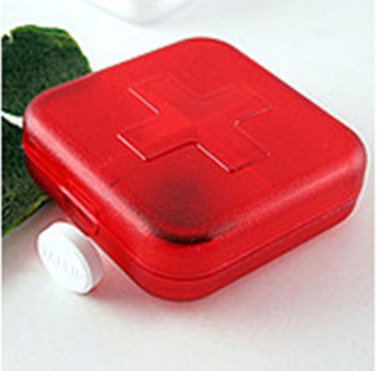 Creative Home Small Kit Fashion Can Receive A Portable Cross Four Sealed Plastic PCS(China (Mainland))