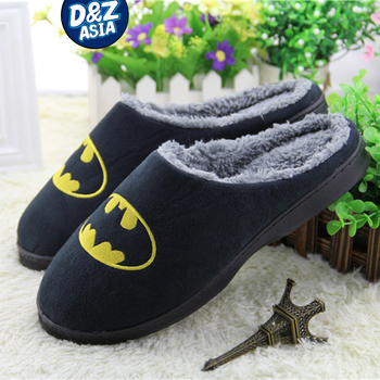 Millffy spider slippers winter home shoes fluffy slipper warm plush cotton slippers man slipper